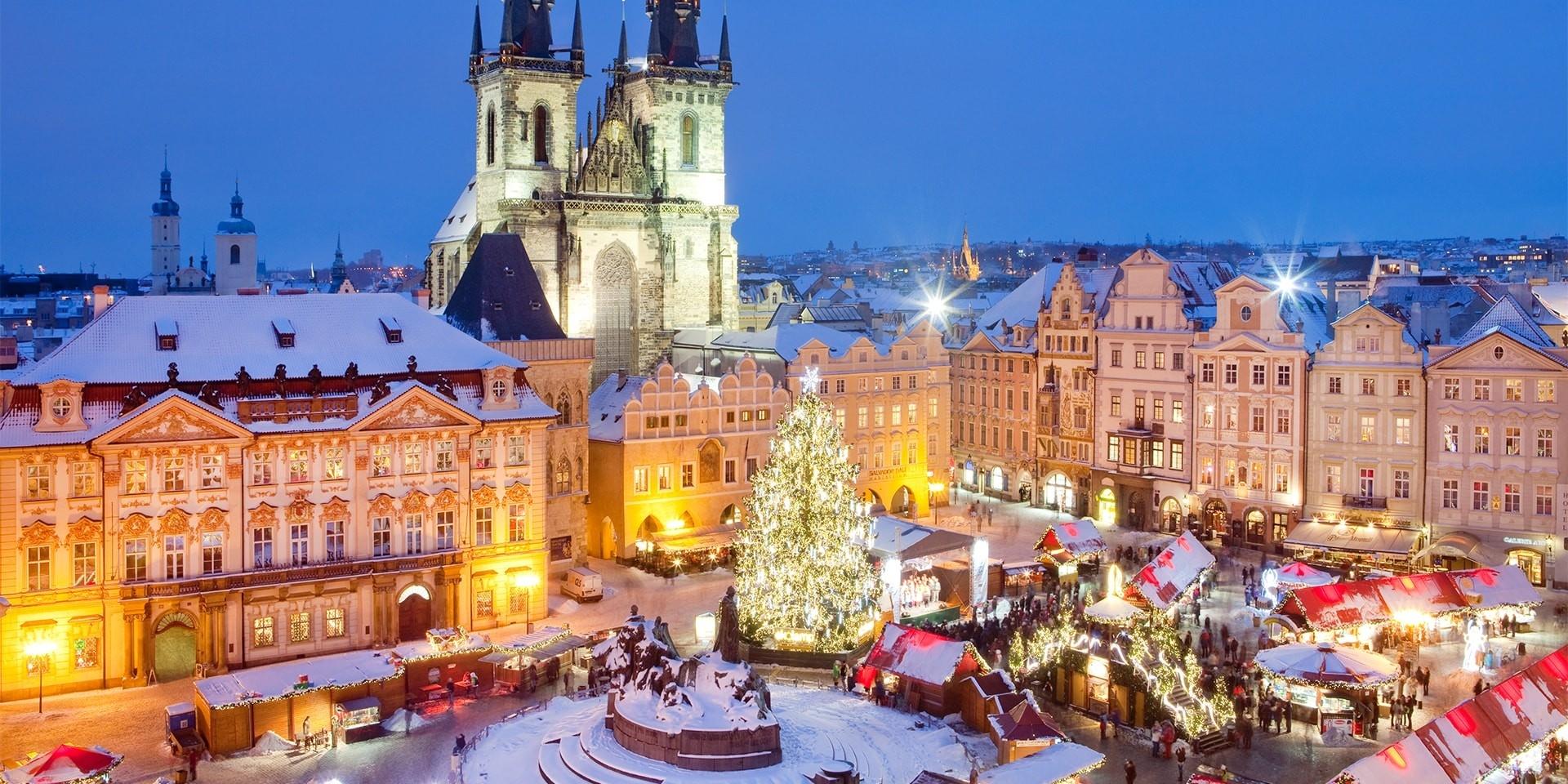 Незабываемое Рождество в Праге!